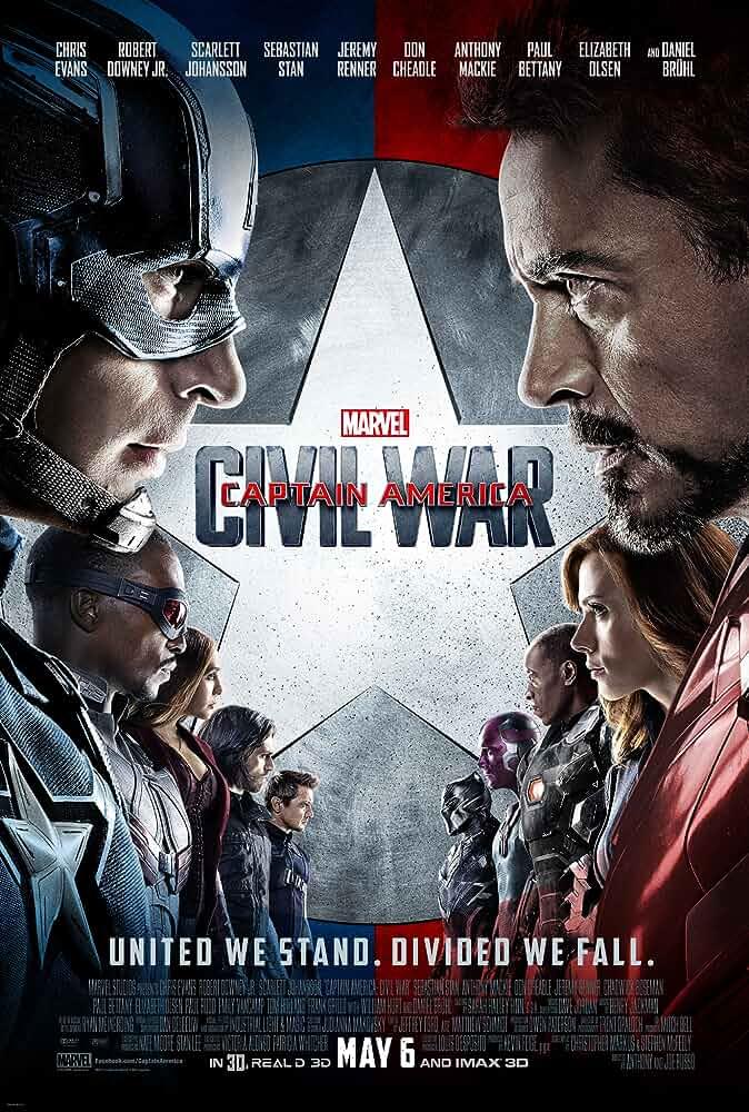 Download Captain America: Civil War (2016) Full Movie In Hindi-English (Dual Audio) Bluray 480p [460MB] | 720p [1GB] | 1080p [1.5GB]