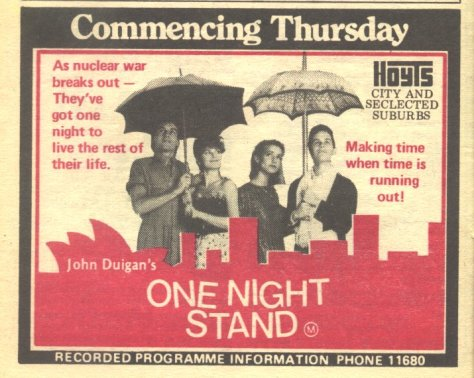 Image result for one night stand 1984 film