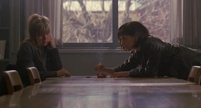 Brittany Murphy and Candy Clark