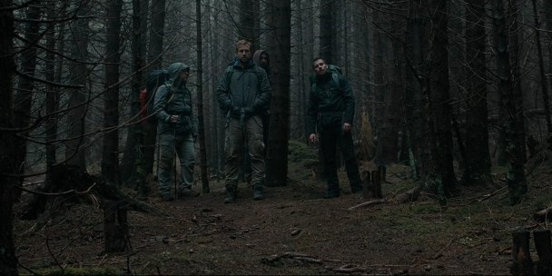 Sam Troughton, Rafe Spall, Robert James-Collier, and Arsher Ali in The Ritual (2017)