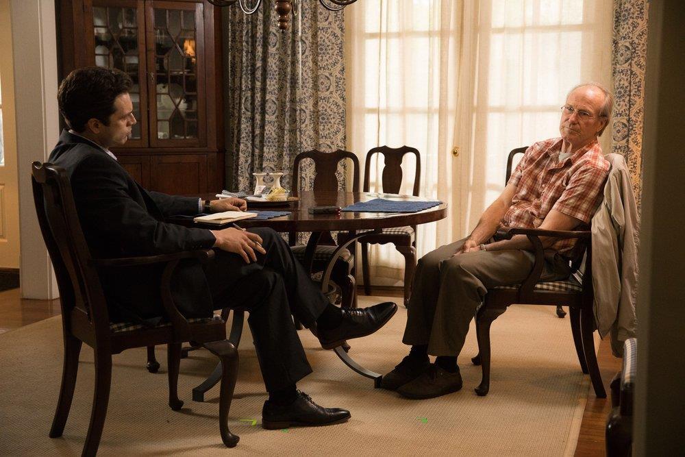 William Hurt and Sebastian Stan in The Last Full Measure (2020)