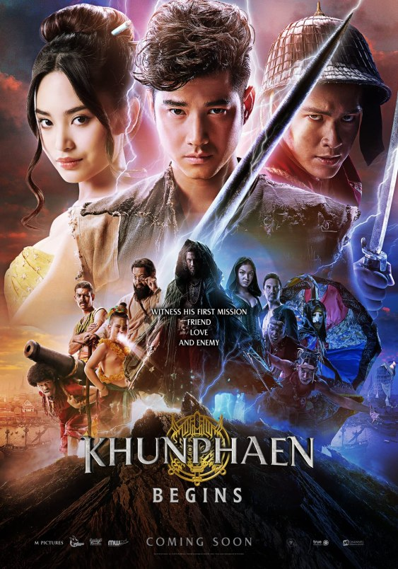 Khun Phaen Begins (2019) UNCUT 720p HEVC HDRip Hollywood Movie [Dual Audio] [Hindi or Thai] x265 AAC ESubs [750MB]