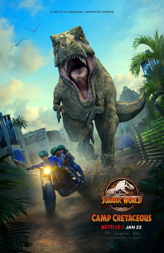 Jurassic World: Camp Cretaceous (2021) NF Series [Dual Audio] [Hindi or English] 720p | 480p HDRip S02 Complete x265 AAC ESubs 1GB