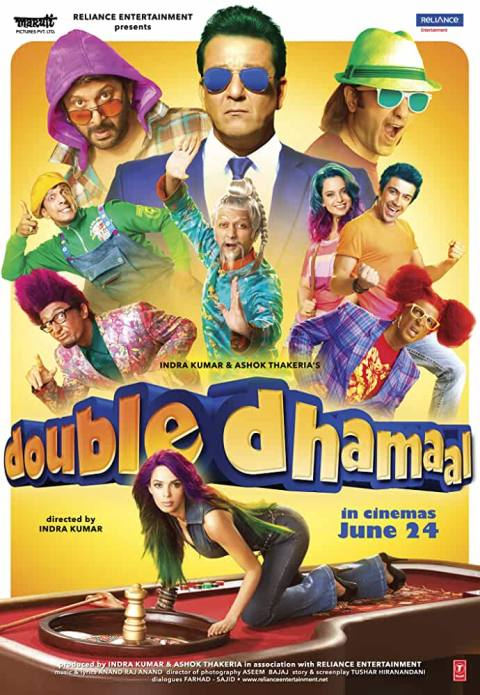 Download Double Dhamaal (2011) Hindi Full Movie 480p [400MB]   720p [1GB]