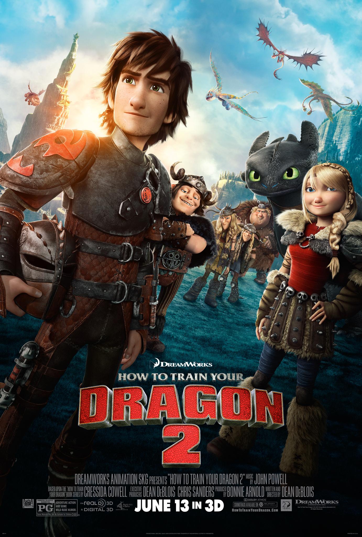 How To Train Your Dragon 2 2014 Imdb