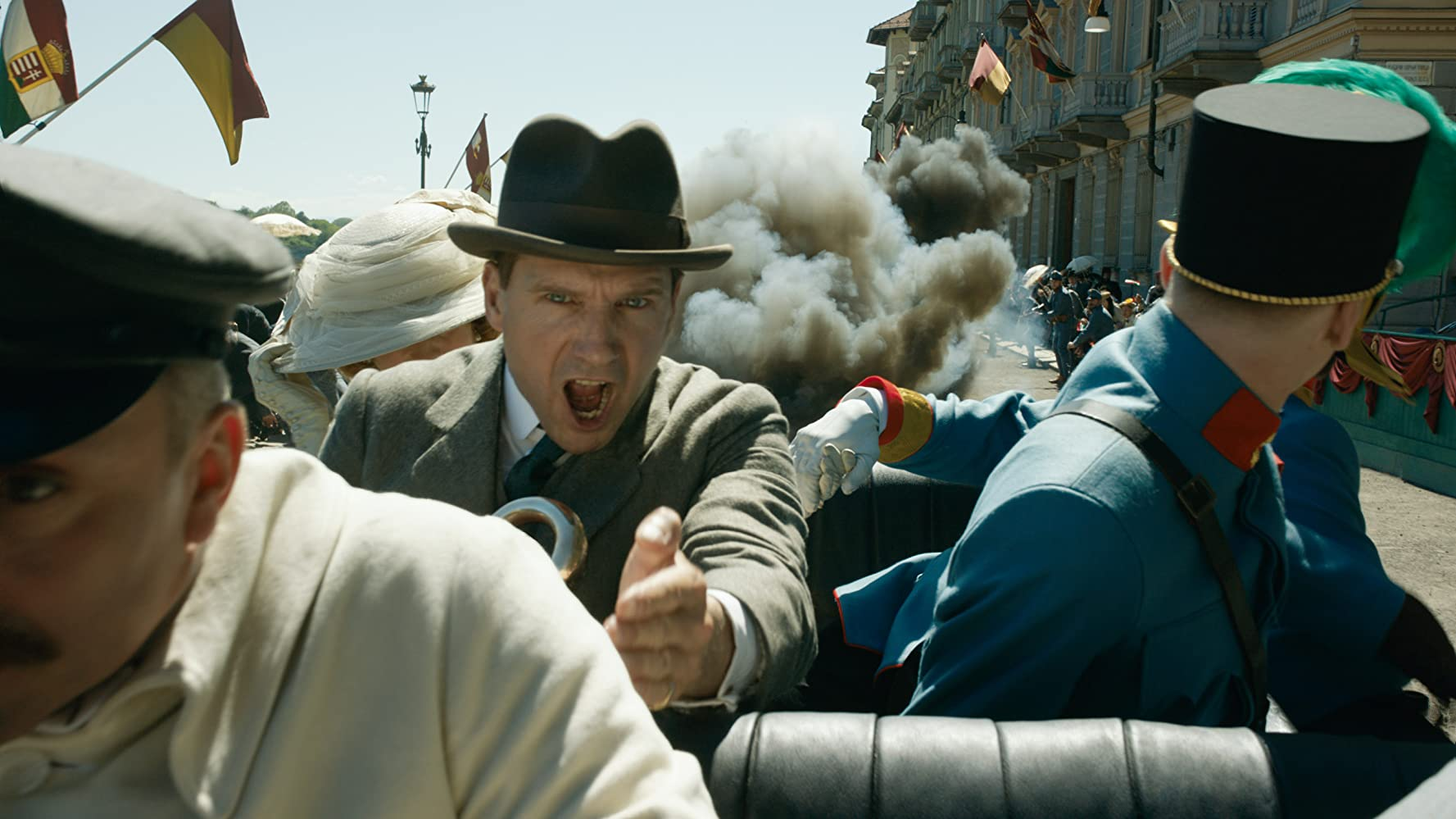 Ralph Fiennes in The King's Man (2020)