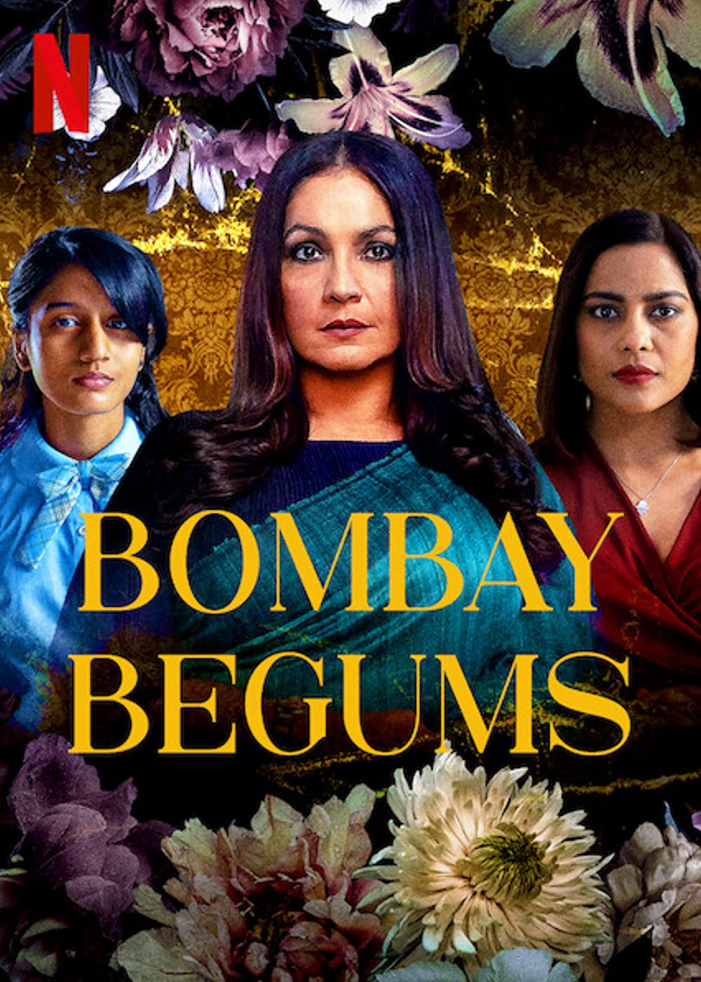 Bombay Begums 2021 S01 Hindi Netflix Original Complete Web Series  480p | 720p HDRip 960MB |2GB