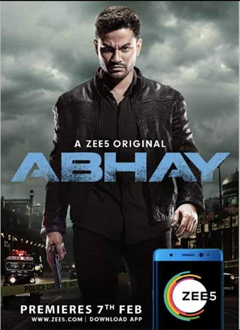 Download Abhay 2019 [Season 1] ZEE5 Hindi WEB Series Complete All Episodes in Hindi 480p | 720p HDRip