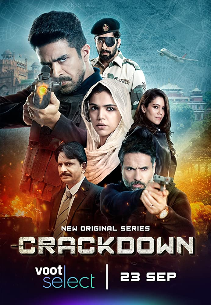 Crackdown 2020 Hindi Complete Voot Select Web Series 720p HDRip 1GB Download