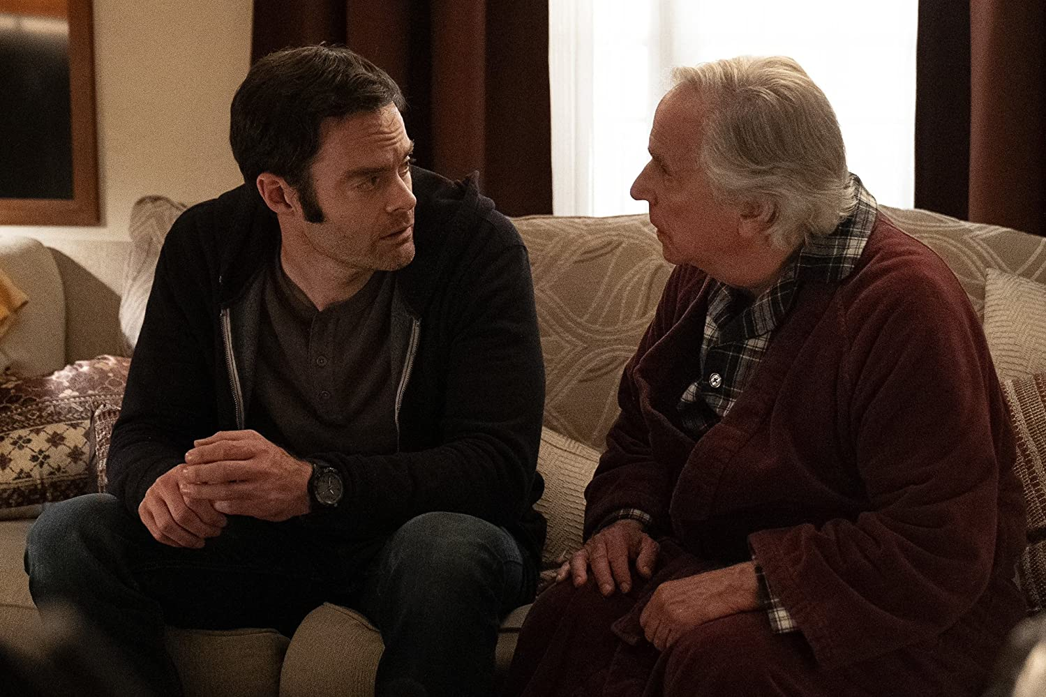 Henry Winkler y Bill Hader in Barry (2018)