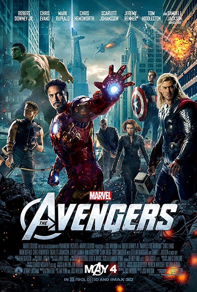 The Avengers 2012 Movie BluRay Dual Audio Hindi Eng 400mb 480p 1.4GB 720p 5GB 16GB 1080p