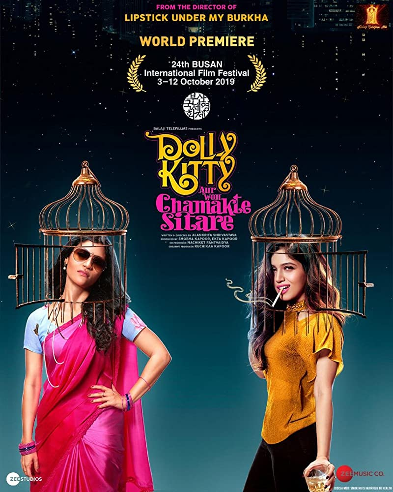 18+ Dolly Kitty Aur Woh Chamakte Sitare 2020 Hindi 720p HDRip 1GB | 500MB Download
