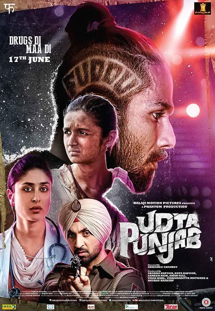 Download Udta Punjab 2016 Hindi Movie 480p   720p