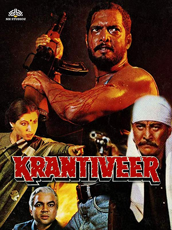 Krantiveer 1994 Hindi Movie AMZN WebRip 400mb 480p 1.2GB 720p 4GB 12GB 1080p