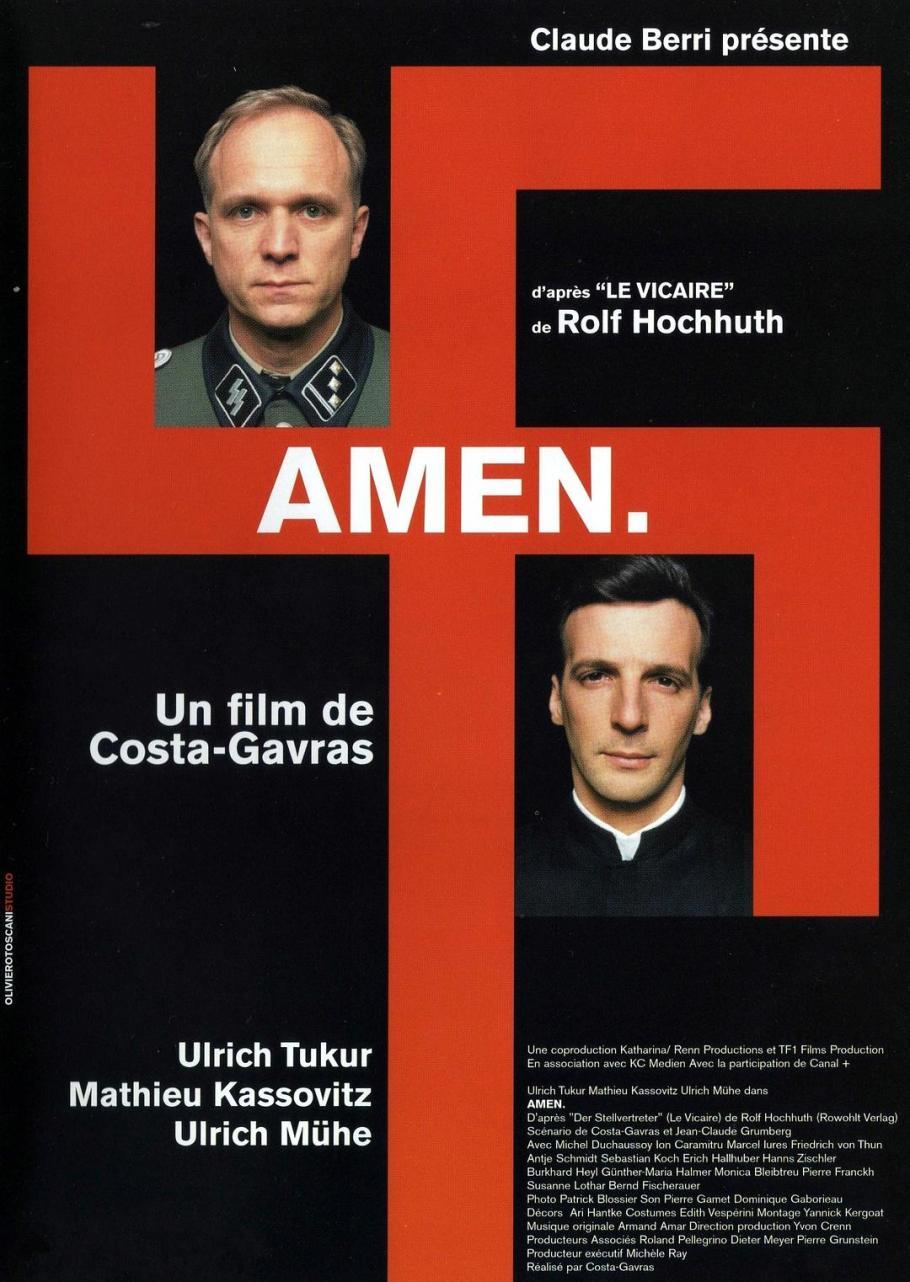 Image result for amen costa gavras