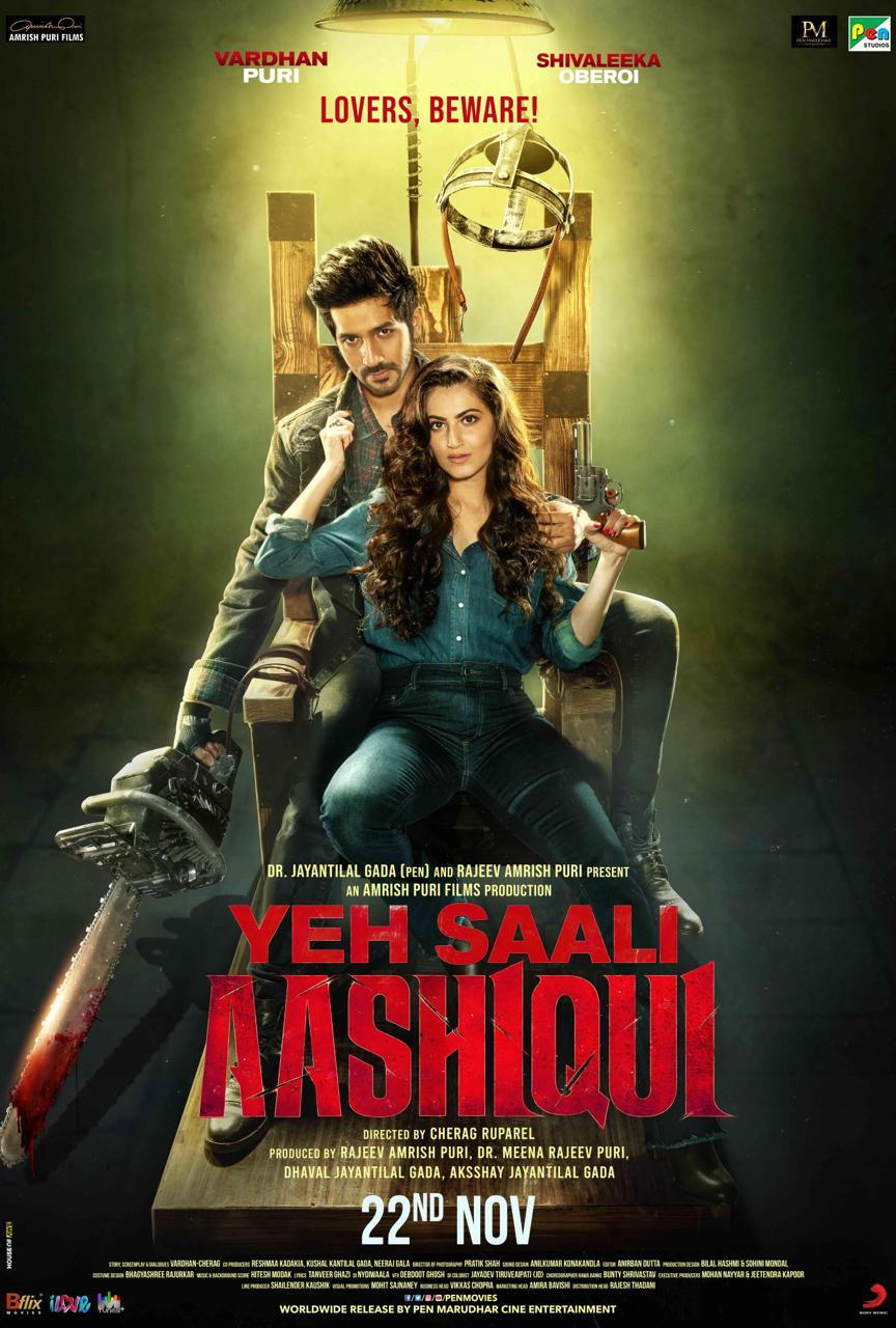 Yeh Saali Aashiqui (2019) Hindi WEB-DL - 480P | 720P | 1080P - x264 - 300MB | 800MB | 2.1GB - Download & Watch Online  Movie Poster - mlsbd