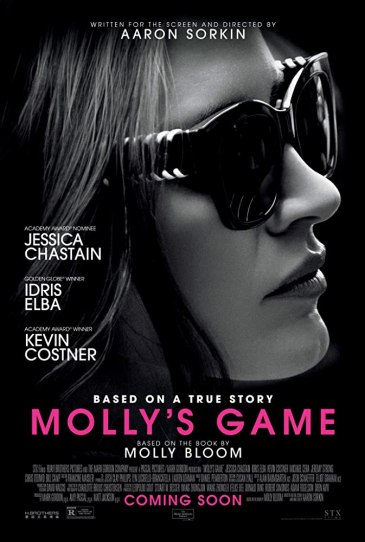 Molly's Game (2017) - one of the top movies every entrepreneur needs to watch.