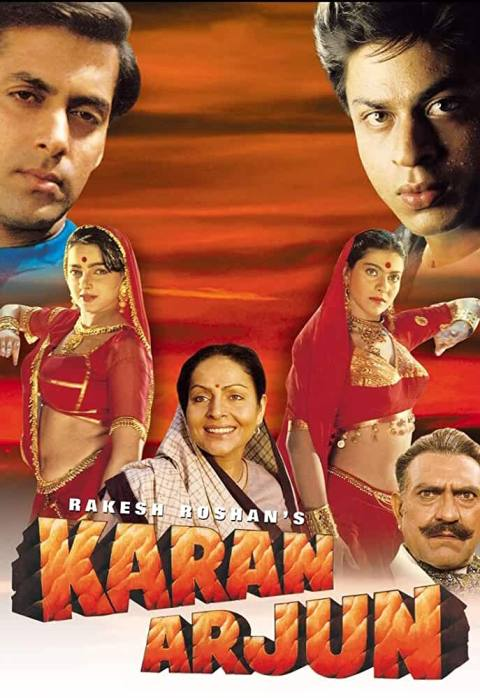Download Karan Arjun (1995) Hindi Full Movie HDRip 480p [400MB]   720p [1.2GB]
