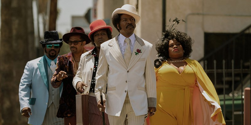 Eddie Murphy, Mike Epps, Craig Robinson, Tituss Burgess, and Da'Vine Joy Randolph in Dolemite Is My Name (2019)