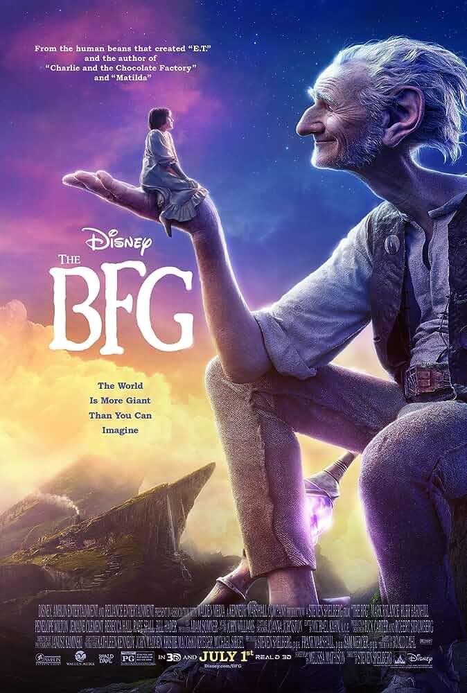 Download The BFG (2016) Dual Audio {Hindi-Eng} 480p [350MB] | 720p [950MB]