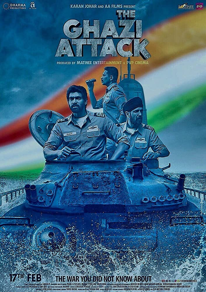 The Ghazi Attack 2017 Hindi Movie 450MB BluRay 480p