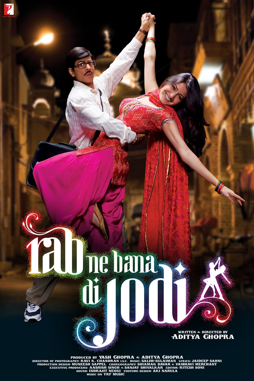 Download Rab Ne Bana Di Jodi (2008) Hindi Full Movie 480p | 720p