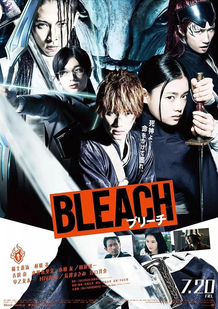 Yôsuke Eguchi, Masami Nagasawa, Seiichi Tanabe, Taichi Saotome, Miyavi, Sôta Fukushi, Ryô Yoshizawa, and Hana Sugisaki in Bleach (2018)
