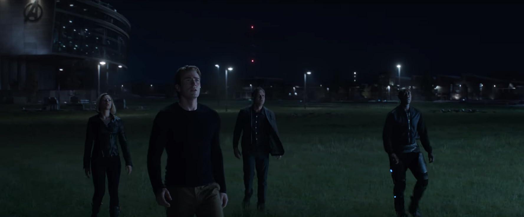 Don Cheadle, Chris Evans, Scarlett Johansson, and Mark Ruffalo in Avengers: Endgame (2019)