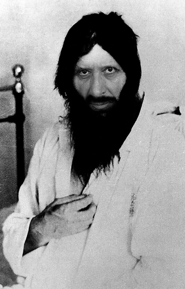 Grigori Yefimovich Rasputin on hospital bed assassination attempt, June 1914