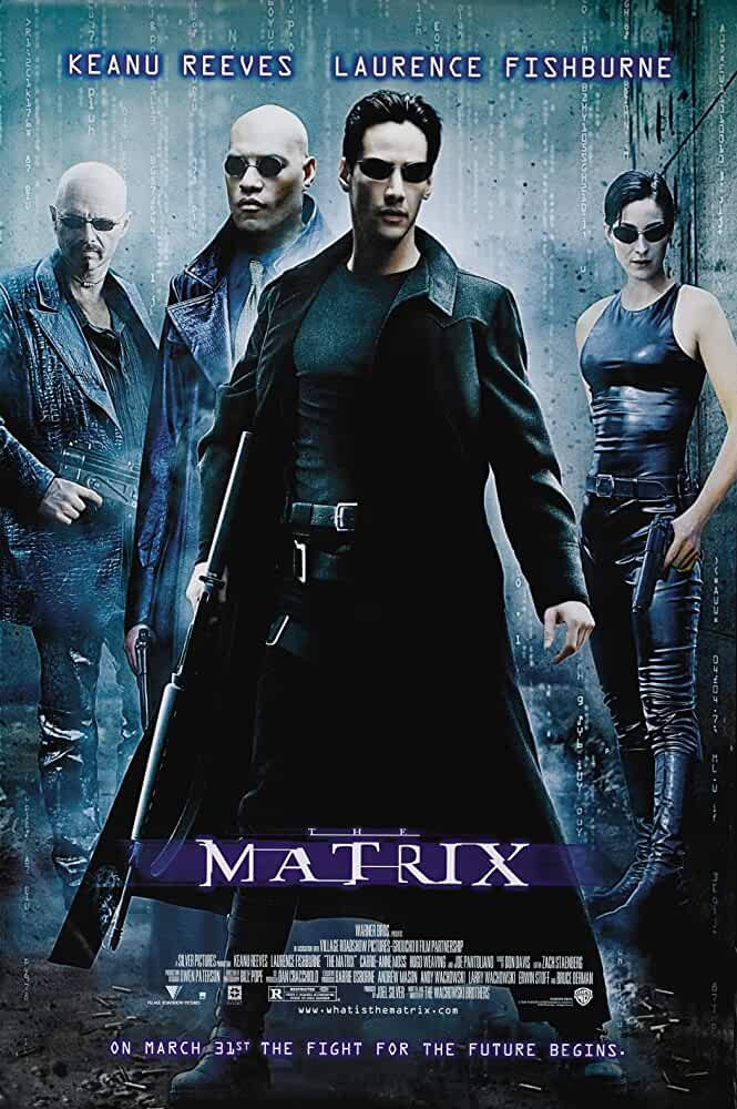 Download The Matrix (1999) Dual Audio {Hindi-Eng} 480p [500MB] | 720p [1GB] | 1080p [2GB]