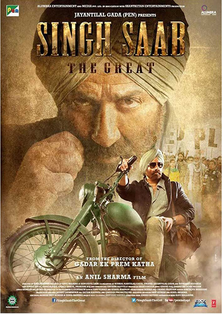 Singh Saab the Great 2013 Hindi Movie JC WebRip 300mb 480p 1.2GB 720p 4GB 12GB 1080p