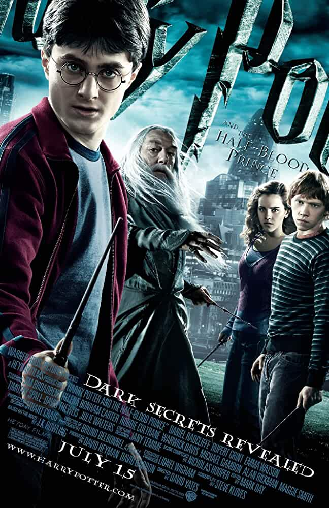 Download Harry Potter and the Half-Blood Prince (2009) Full Movie In Hindi-English (Dual Audio) Bluray 480p [300MB] | 720p [1GB] | 1080p [2.4GB]