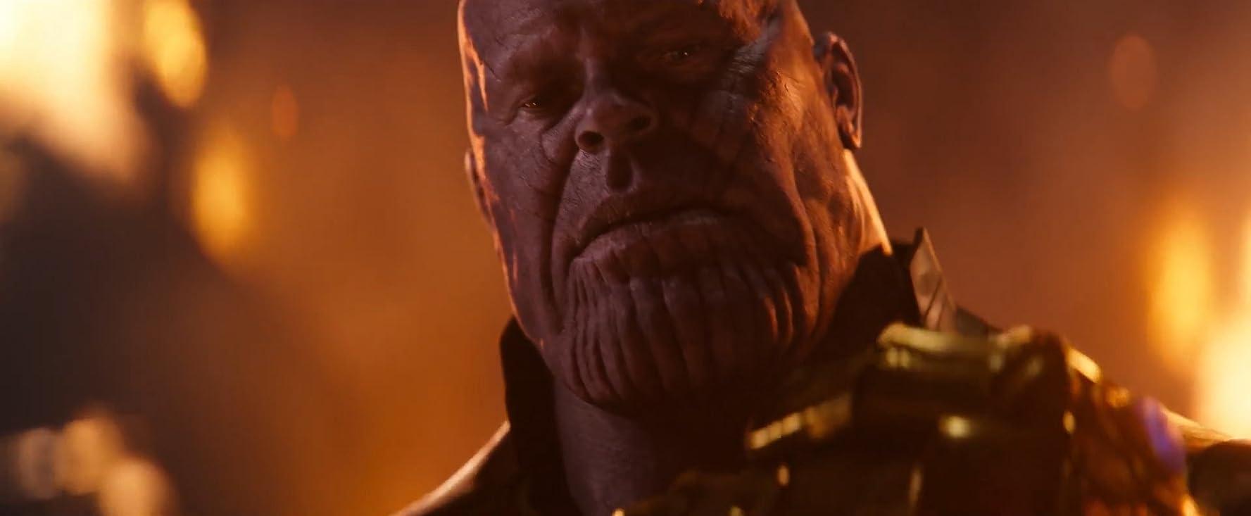 Josh Brolin as Thanos / Avengers: Infinity War / IMDB.com