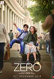Download Zero (2018) Full Movie {Hindi} WebRip 480p | 720p