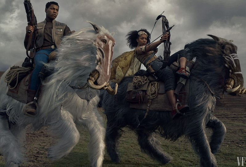John Boyega and Naomi Ackie in Star Wars: Episode IX - The Rise of Skywalker (2019)