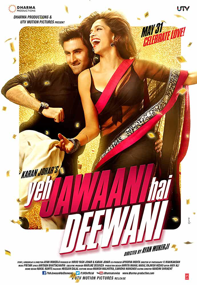 Download Yeh Jawaani Hai Deewani (2013) Hindi Full Movie 720p | 1080p