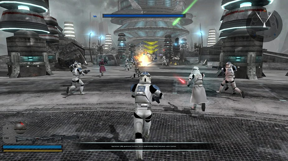 Image result for Star Wars: Battlefront II (2005)