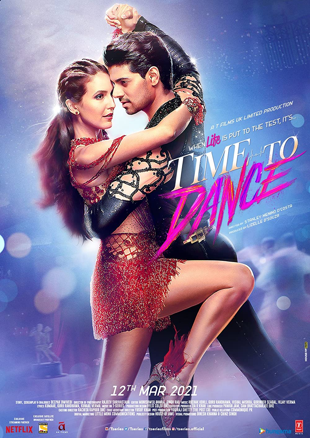 Time to Dance 2021 Hindi Movie 720p | 480p NF HDRip ESubs 1.1GB | 400MB Download