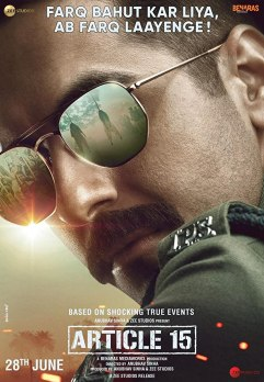 Upcoming Bollywood Movie Article 15 Release Date, Trailer, Star Cast, Story, Songs