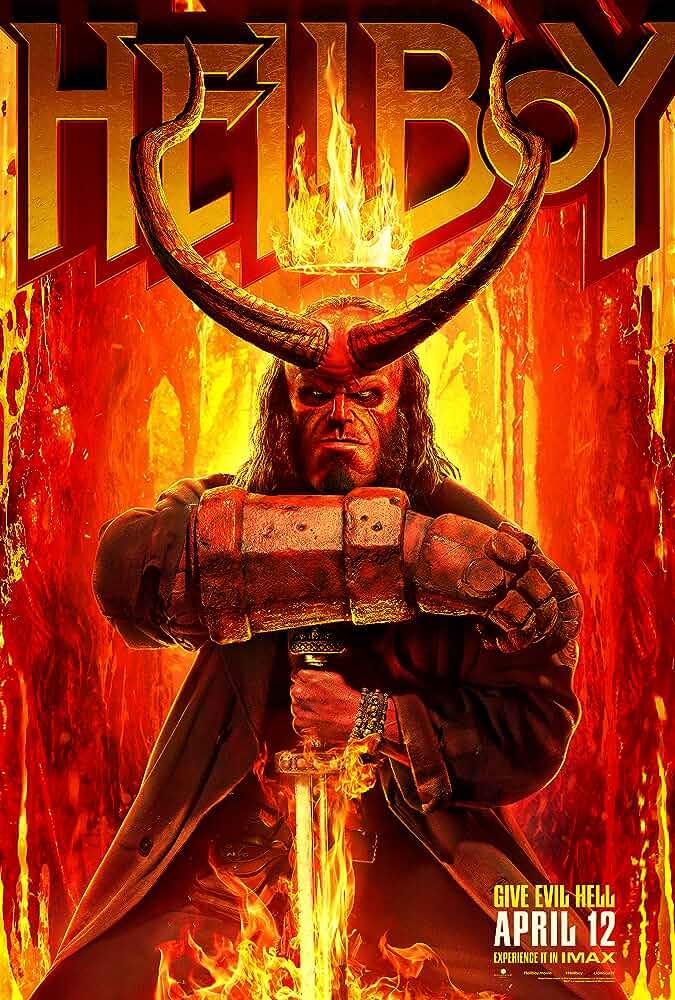 Download Hellboy (2019) Full Movie In Hindi-English (Dual Audio) Bluray 480p [300MB] | 720p [1.2GB] | 1080p [3.2GB]