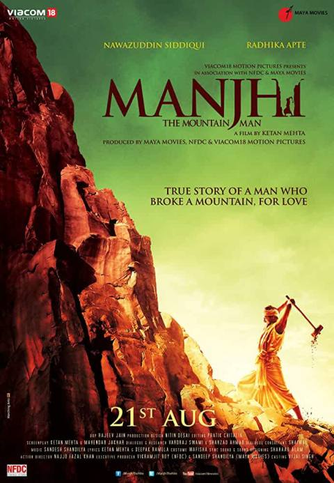 Download Manjhi: The Mountain Man (2015) Hindi Full Movie 480p [400MB] | 720p [1GB] | 1080p [3GB]