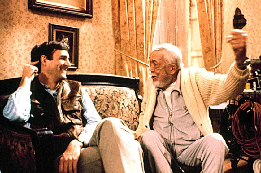 John Huston and Tony Huston in The Dead (1987)