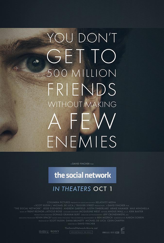 Jesse Eisenberg in The Social Network (2010)