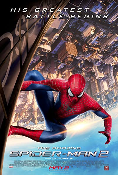 The Amazing Spider-Man 2 (2014) Dual Audio [Hindi+English] 720p Blu-Ray x264 AAC 900MB