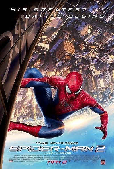 The Amazing Spider-Man 2 (2014) Dual Audio [Hindi+English] 720p Blu-Ray x264 AAC 900MB