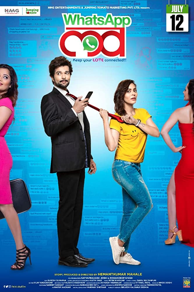 WhatsApp Love 2019 Marathi 400MB Pre-DVDRip 480p