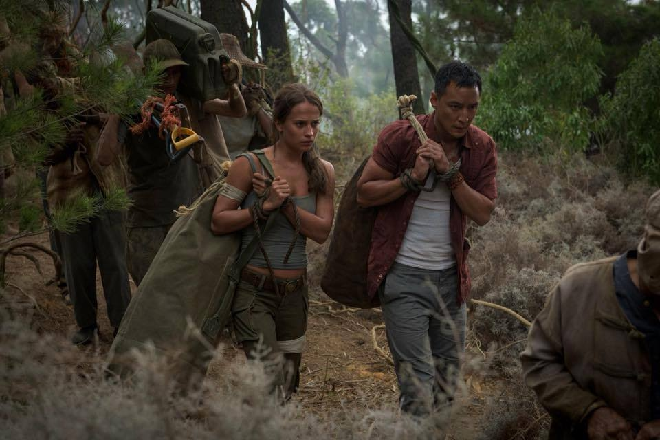 Daniel Wu and Alicia Vikander