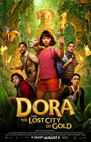 Download Dora and the Lost City of Gold (2019) Dual Audio {Hindi Dubbed+English} HDCaM 480p || 720p || 1080p