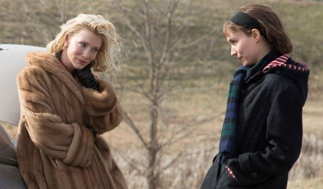 Cate Blanchett and Rooney Mara in Carol (2015)