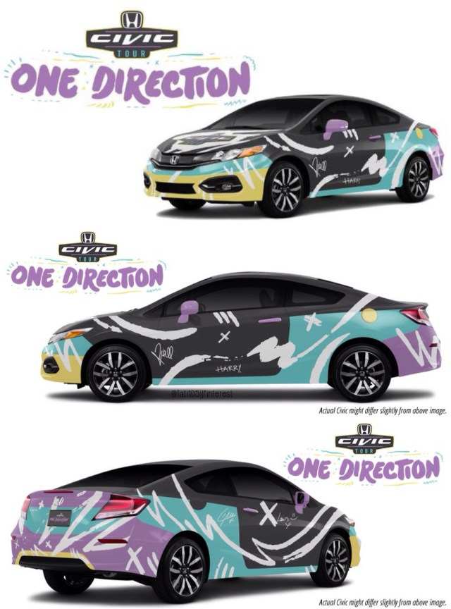 Honda Civic TV Commercial with One Direction (TV Short 2016) - IMDb